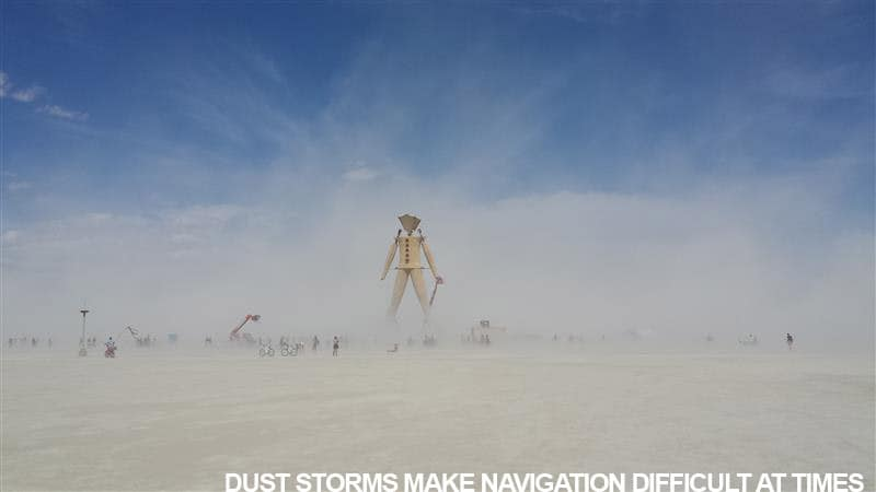 Dust Storms Make Navigation Tricky At Times