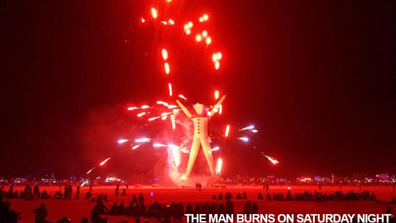 The Man Burns Saturday