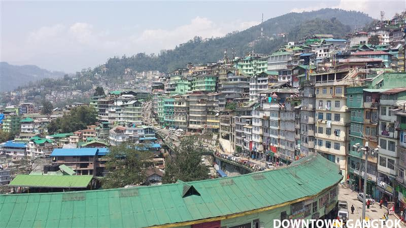 Downtown Gangtok