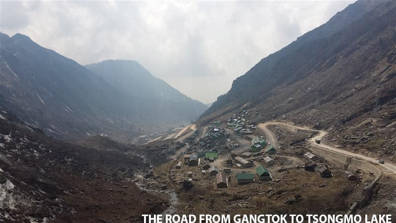 Road from Gangtok
