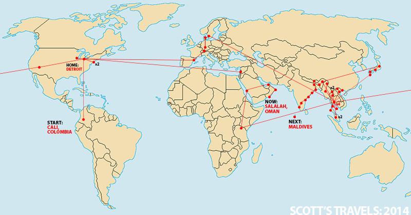 Scott's Travels 2014