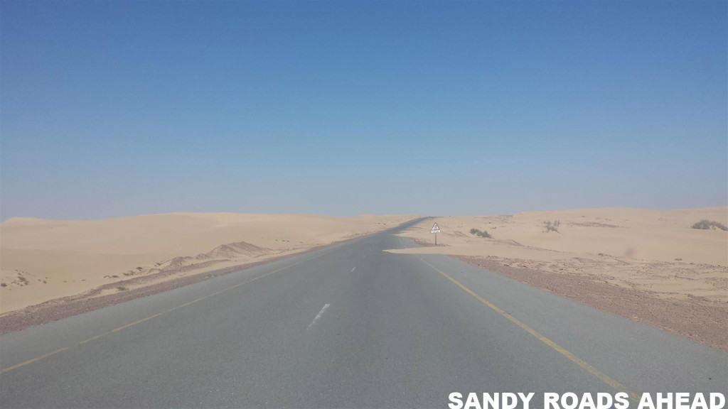 Sandy Roads Ahead