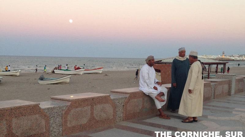 The Corniche in Sur