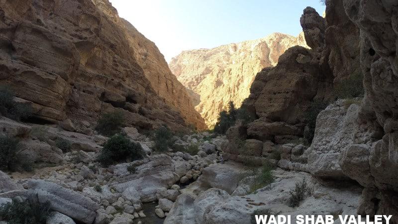 Wadi Shab Valley