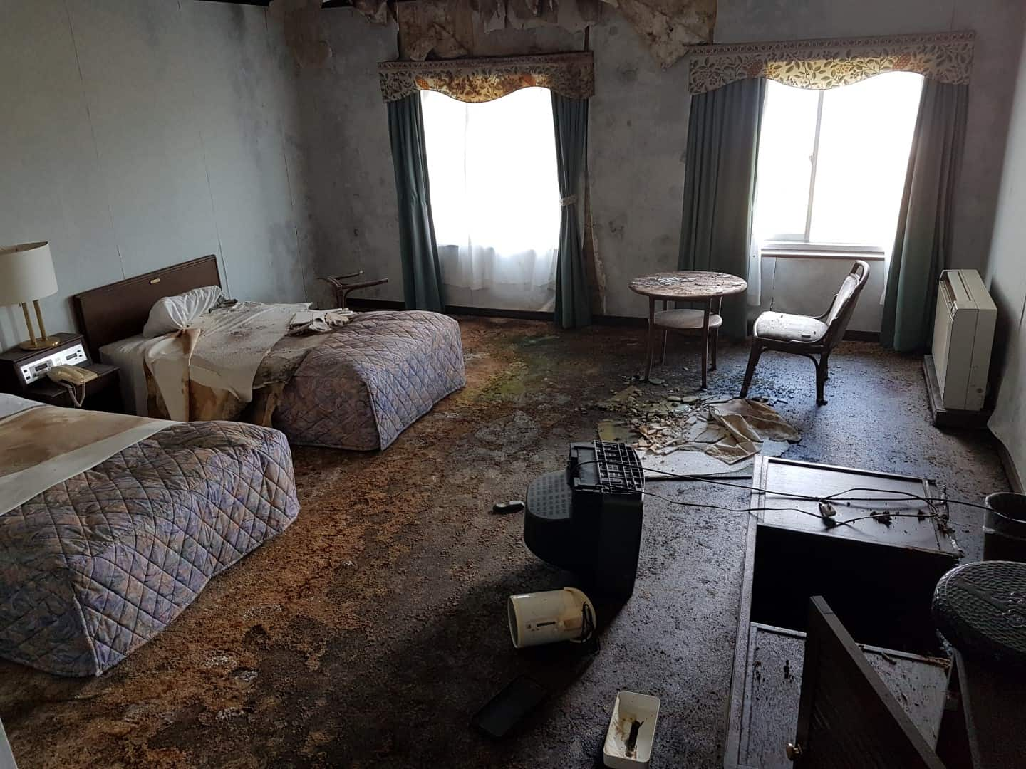 Western-style Room in Disrepair