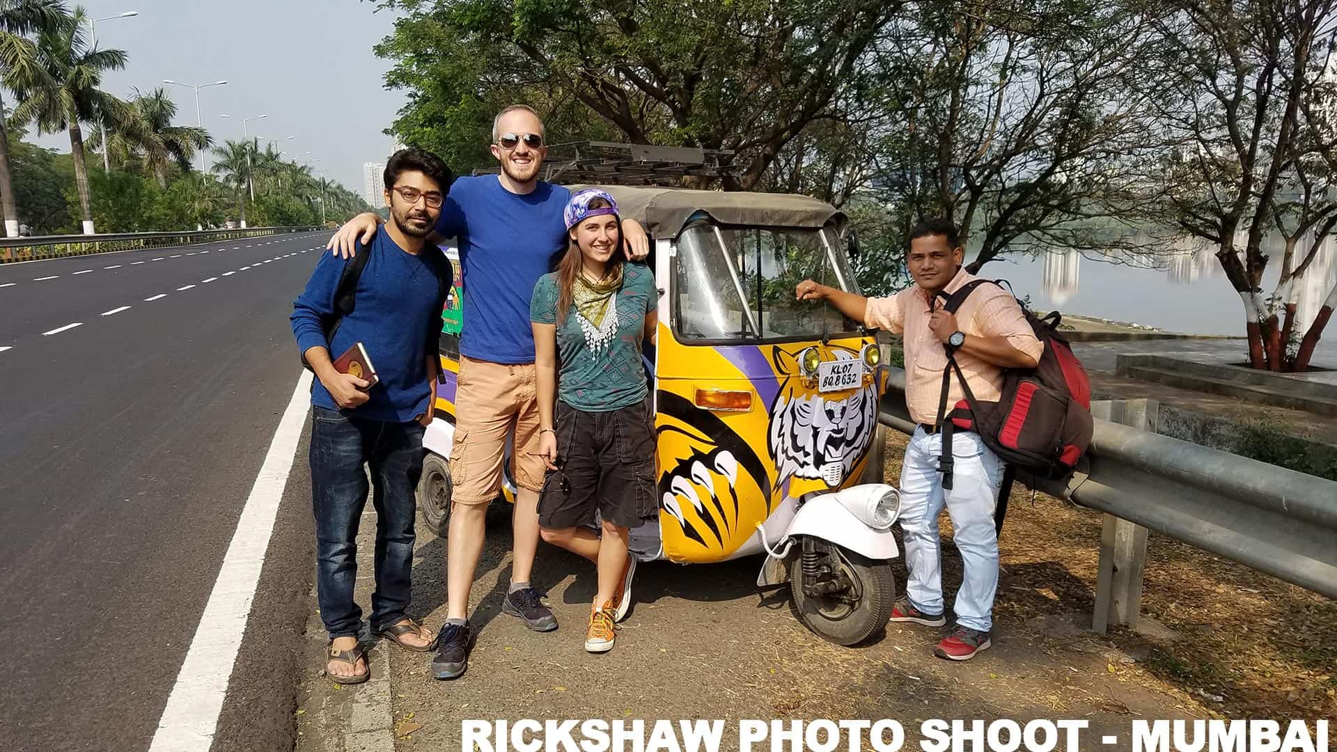 Rickshaw Run Photo Shoot in Mumbai