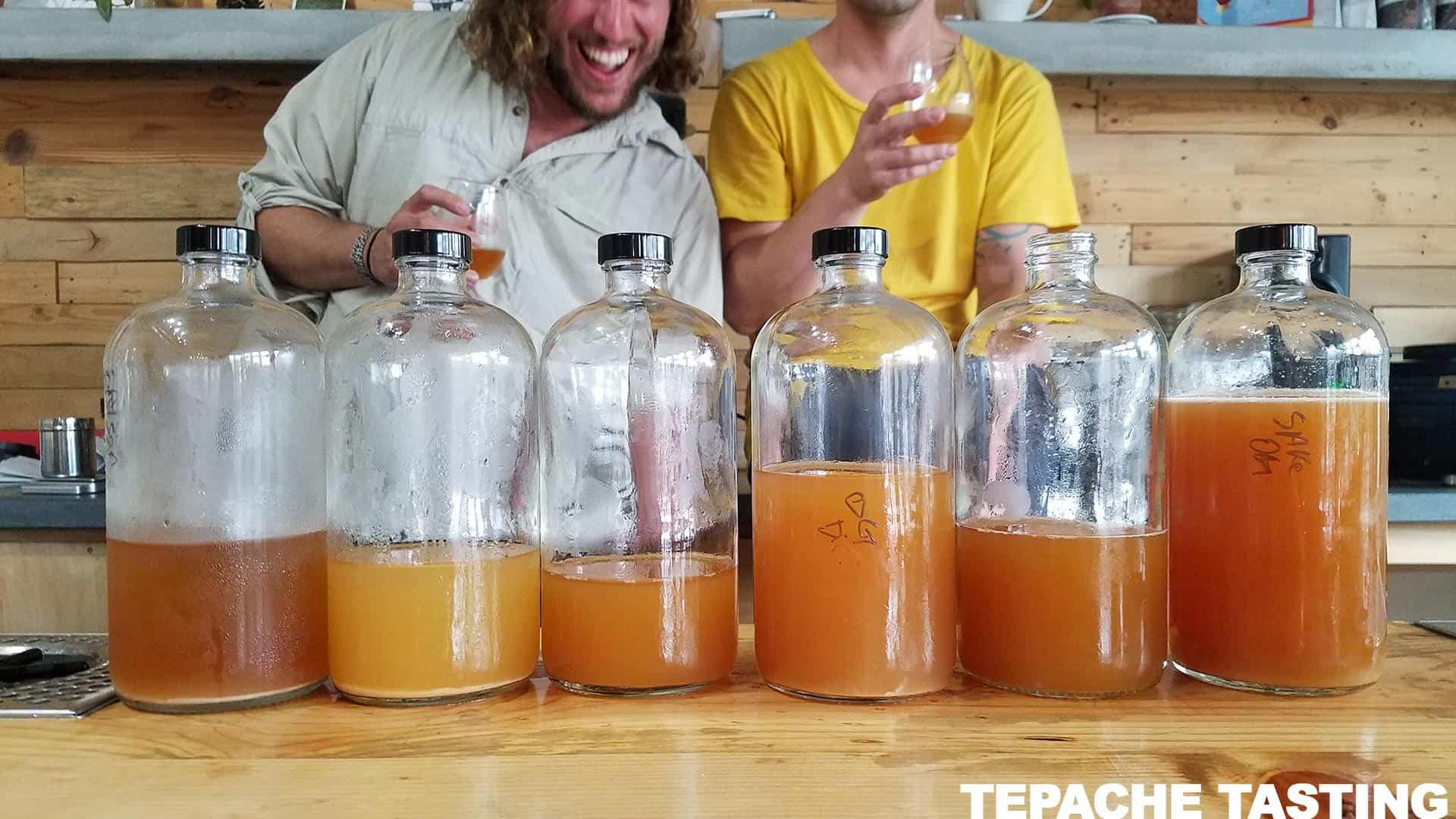 Tepache Tasting with Josh & Carlos